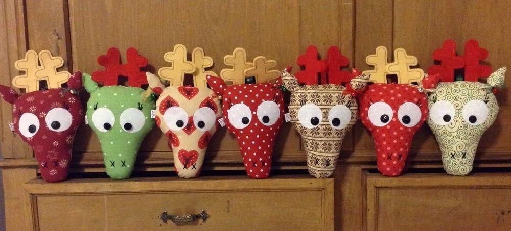 Makerist - Weihnachtselche...oder Hirsche...oder doch rentiere? ;-) - Nähprojekte - 1