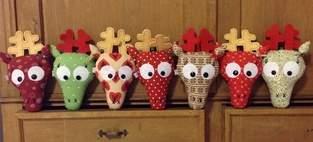 Weihnachtselche...oder Hirsche...oder doch rentiere? ;-)