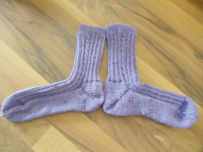 Makerist - Socken - Strickprojekte - 1