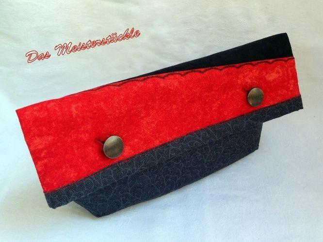 Makerist - Aus Clutch wird Täschchen in ein paar Handgriffen - Nähprojekte - 1