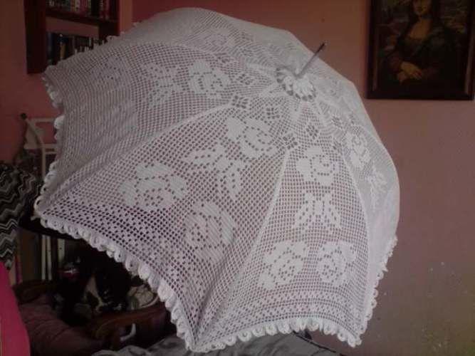 Makerist - ombrelle mariage - Créations de crochet - 1
