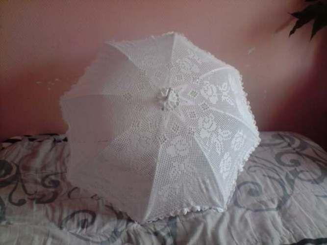 Makerist - ombrelle mariage - Créations de crochet - 2