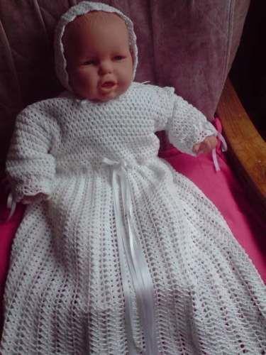 Makerist - robe de baptême - Créations de crochet - 1
