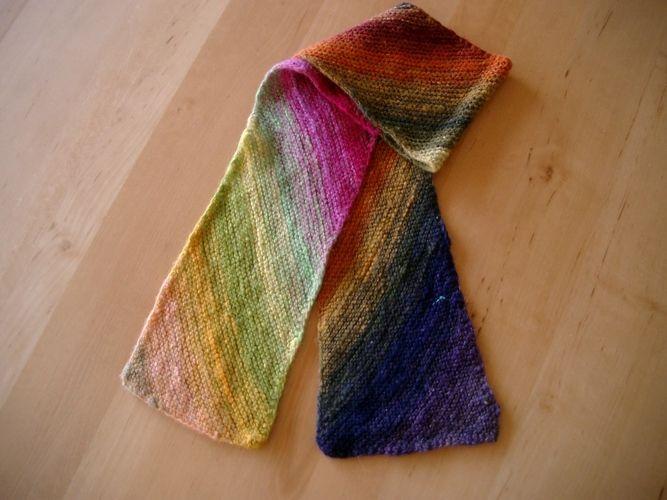 Makerist - kleine Schals aus japanischer Sockenwolle - Strickprojekte - 3