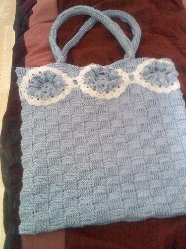 Makerist - sac en coton - Créations de crochet - 1