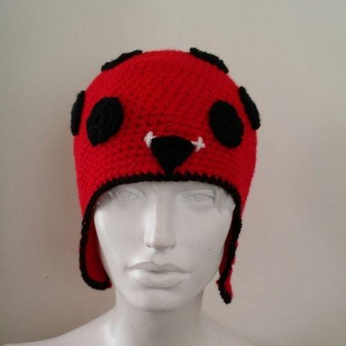 Makerist - Bonnet Coccinelle - tour de tête 56 cm environ  - Créations de crochet - 1