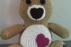 Makerist - Teddy mit Herz - 1