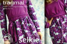 Makerist - Freebook Wickelkleid SELKIE für Mädchen - 1