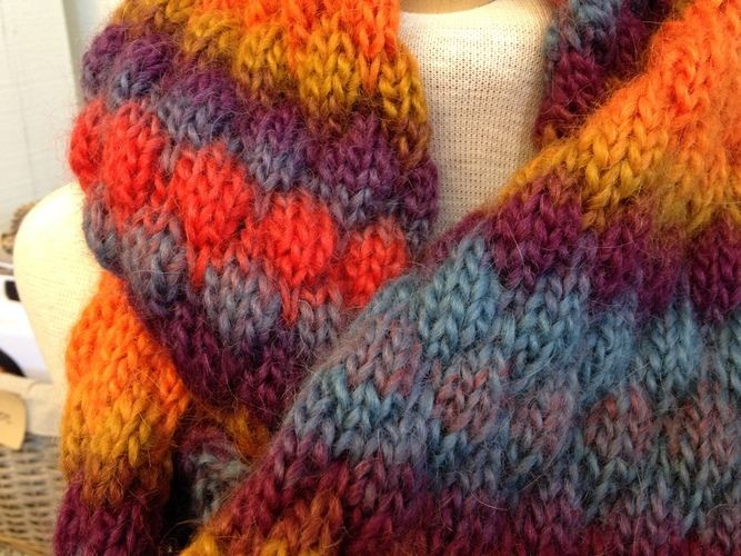 "Makerist - Loop ""Indian Summer"" - Strickprojekte - 2"