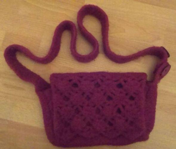 Makerist - Rote Handtasche - Strickprojekte - 1