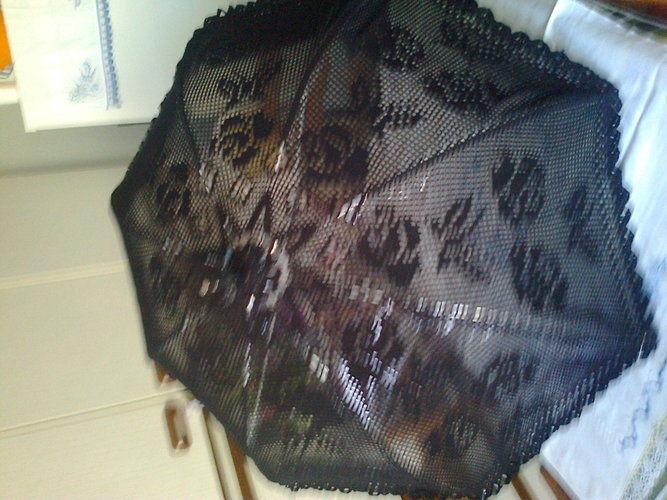 """Makerist - ombrelle """"noire"""" - Créations de crochet - 1"""