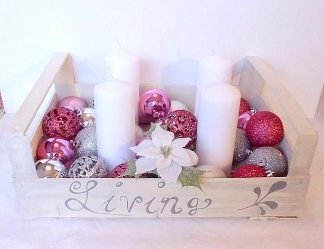 Makerist - Adventskiste Shabby Chic Rosè - DIY-Projekte - 1