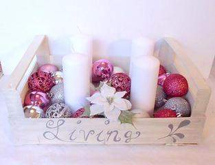 Makerist - Adventskiste Shabby Chic Rosè - 1