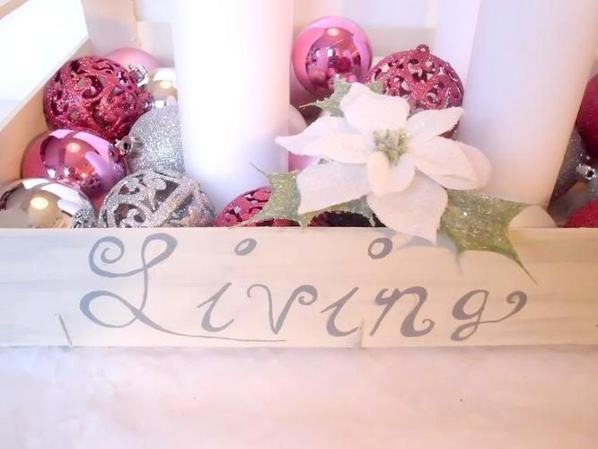 Makerist - Adventskiste Shabby Chic Rosè - DIY-Projekte - 2