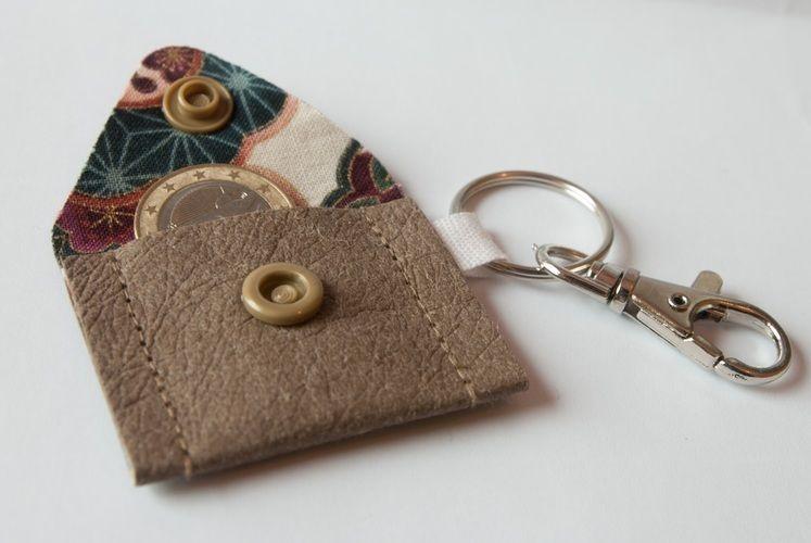Makerist - Snappap Mini-Portemonnaie für den Einkaufswagen-Euro - Nähprojekte - 1