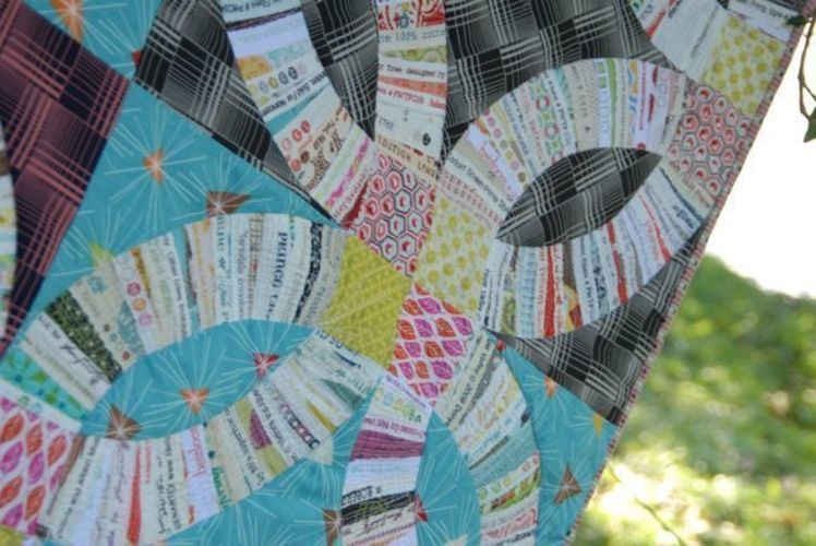 Makerist - Double Wedding Ring Quilt - Patchwork-Projekte - 1