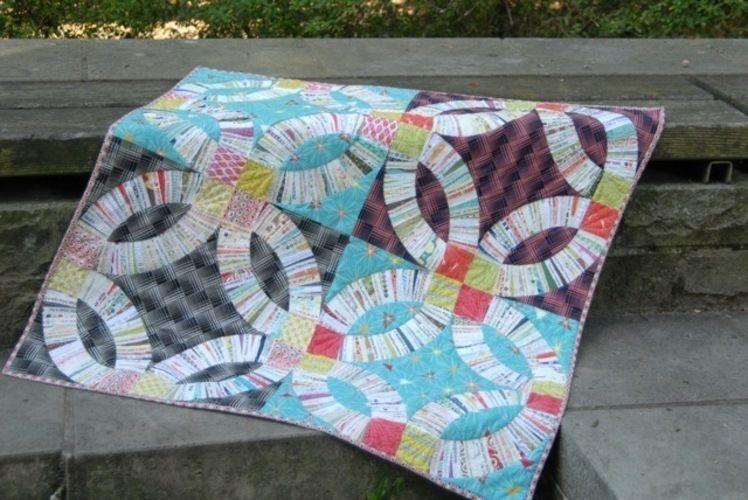 Makerist - Double Wedding Ring Quilt - Patchwork-Projekte - 2