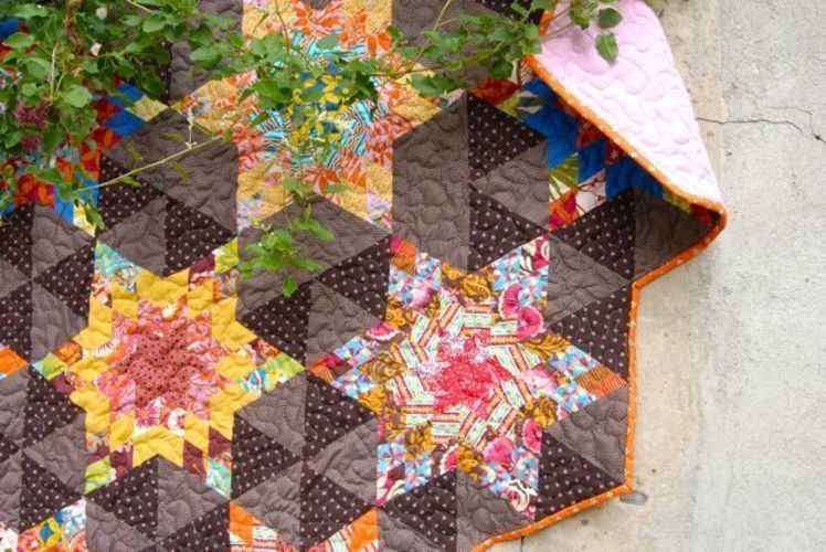 Makerist - Quilt in aussergewöhnlicher Form - Patchwork-Projekte - 2