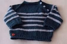 Makerist - Strickjäckchen  für little Boy - 1