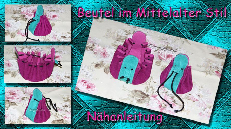 Makerist - Beutel im Mittelalter Stil - DIY-Projekte - 1