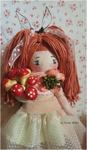 Makerist - Flora mini clothes doll fairy - Créations de couture - 1