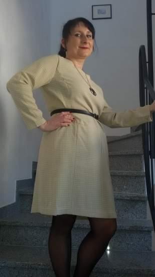 Kleid von Vogue