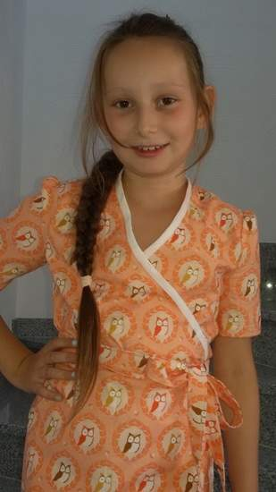 Wickelkleid für meine Tochter