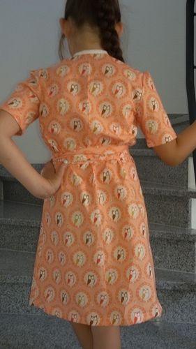 Makerist - Wickelkleid für meine Tochter  - Nähprojekte - 2