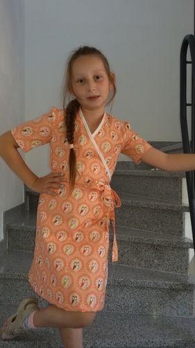 Makerist - Wickelkleid für meine Tochter  - Nähprojekte - 3