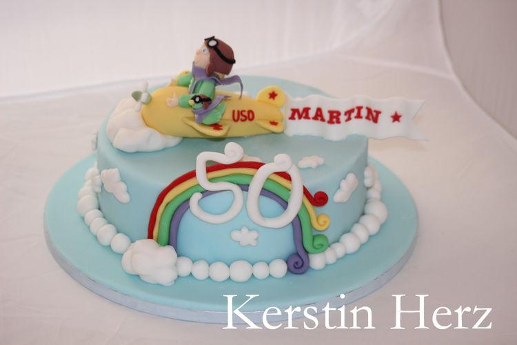 Makerist - Flieger-Torte - Torten, Cake Pops und Cupcakes - 1