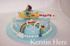 Makerist - Flieger-Torte - 1