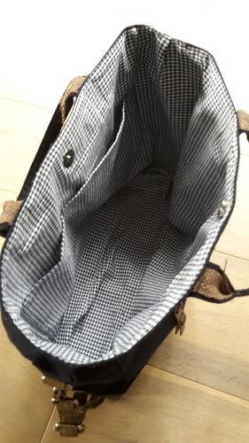 Makerist - Tasche Canvas - Nähprojekte - 3