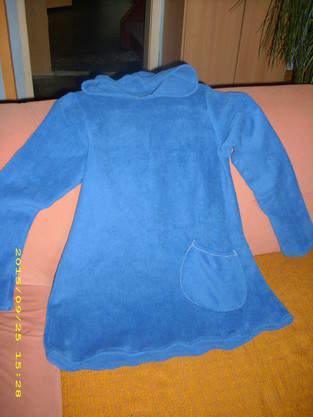 Kapuzenpullover aus Fleece gr S