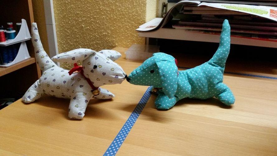 Makerist - 2 Kuschelhunde - Nähprojekte - 2