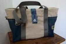 Makerist - Jeans/Leinen Tasche  - 1