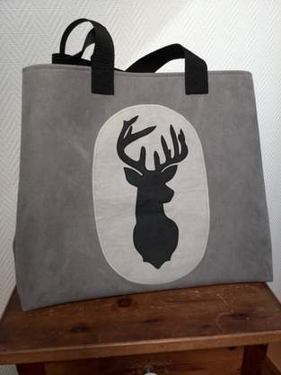 Makerist - Shopper Hirsch - 1