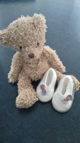 Makerist - Ballerines naissance  - Créations de crochet - 2