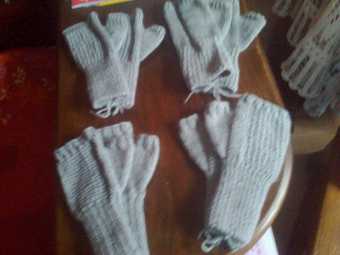 Makerist - mitaines - Créations de tricot - 1