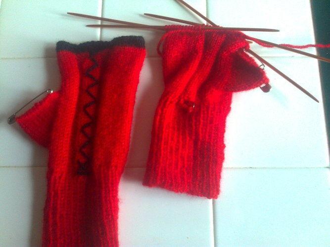 Makerist - mitaines - Créations de tricot - 2