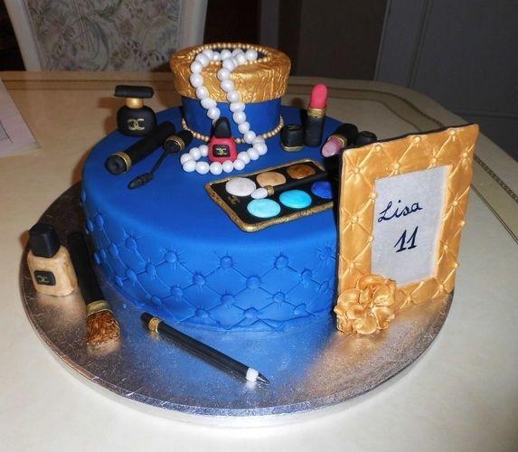 Makerist - Beauty Torte - Torten, Cake Pops und Cupcakes - 1