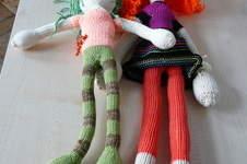 Makerist - 2 Puppen/ Babywolle/ Auftragsarbeit - 1