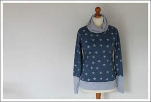 Makerist - Kragen-Hoodie für Damen - 1