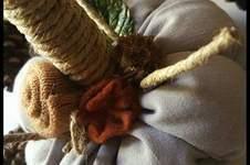 Makerist - Citrouille décoration d'automne shabby victorien.  - 1