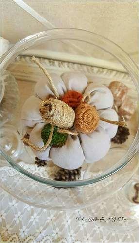 Makerist - Citrouille décoration d'automne shabby victorien.  - Créations de couture - 2