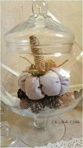 Makerist - Citrouille décoration d'automne shabby victorien.  - Créations de couture - 3