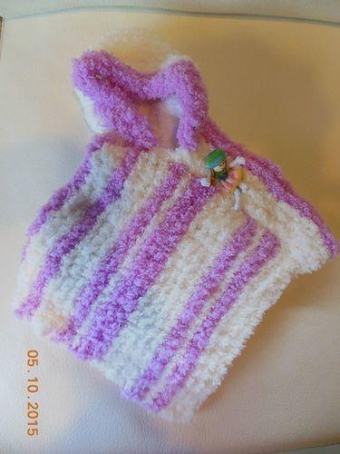 Makerist - poncho bébé - Créations de tricot - 1