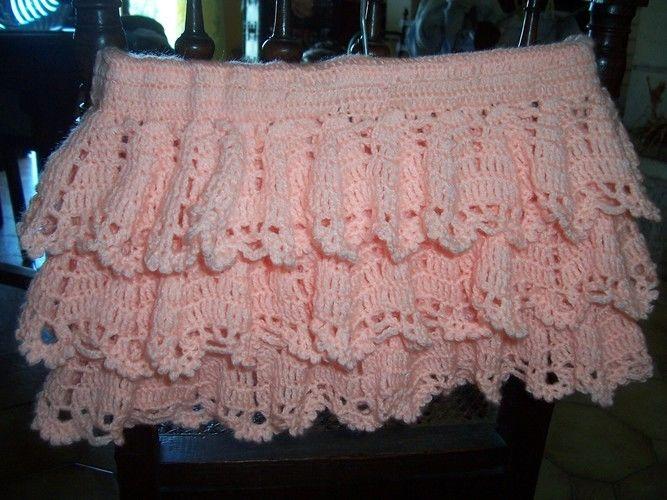 Makerist - jupe à volant 6 mois - Créations de crochet - 1