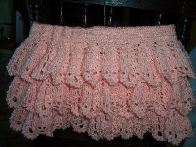 Makerist - jupe à volant 6 mois - Créations de crochet - 2