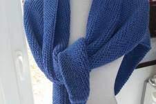 Makerist - Châle Trendy en baby alpaga tricoté à la main - 1