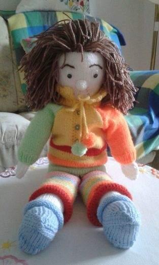 Makerist - Gestrickte Puppe - 1